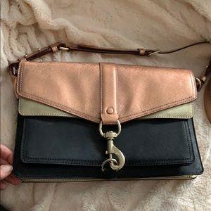 Rebecca Minkoff metallic bag